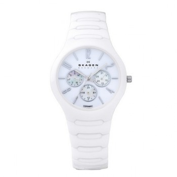 Женские часы Skagen LINK Sk817sxwc1