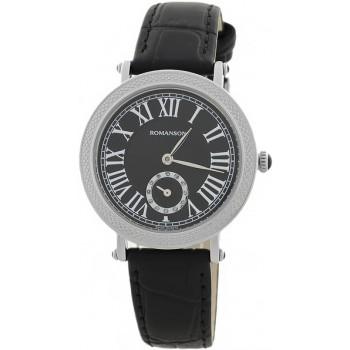 Женские часы Romanson RL1253BLWH BK