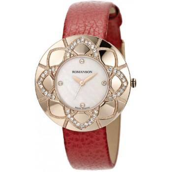 Женские часы Romanson RL1265TLRG WH