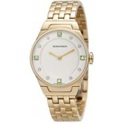 Женские часы Romanson RM3209LGD WH