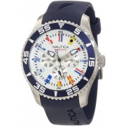 Мужские часы Nautica NST-07 Multi Flags Na12627g