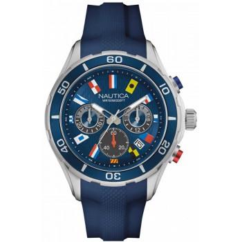 Мужские часы Nautica NST-12 Flags Nad16534g