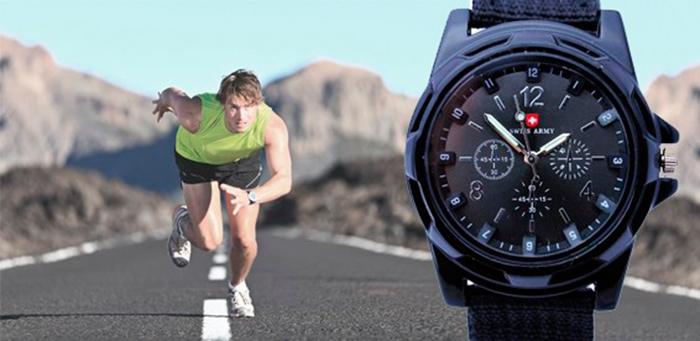 Спортивные часы брендовых производителей